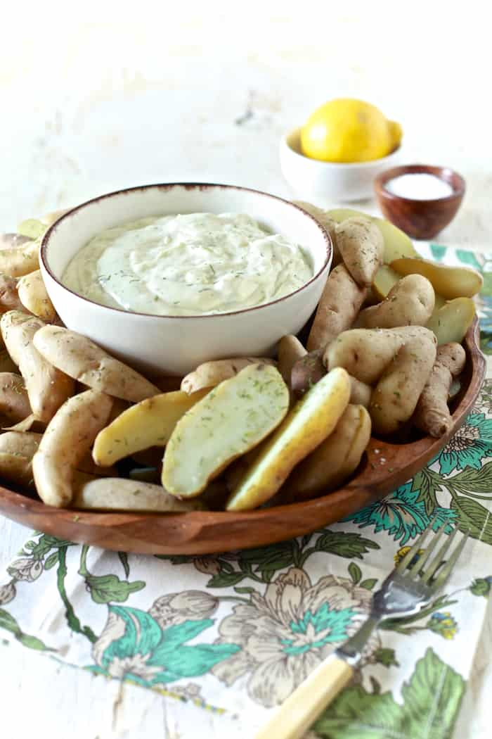 Chilled Potatoes with Lemon Dill Aioli 14