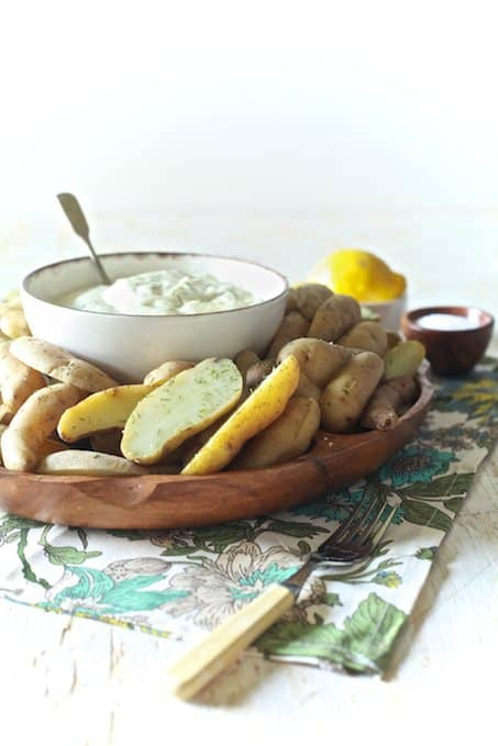 Chilled Potatoes with Lemon Dill Aioli Thumbnail