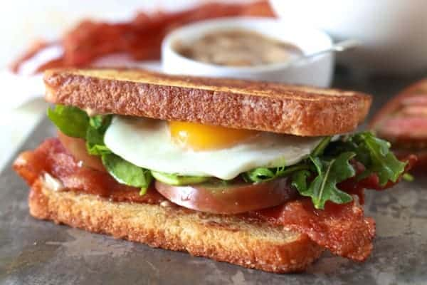 Fancy BLT - TheNoshery.com