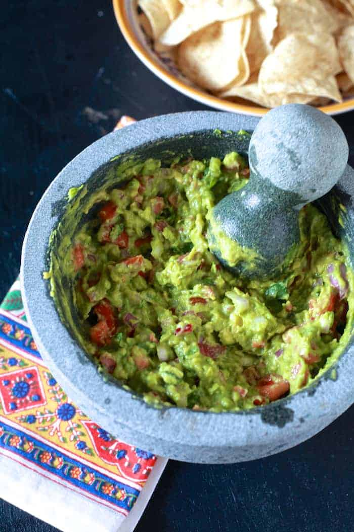 How to season a grant mortar and pestle & guacamole + @JCPenney $100 GC #giveaway - TheNoshery.com #jcpambassador #bh #ad