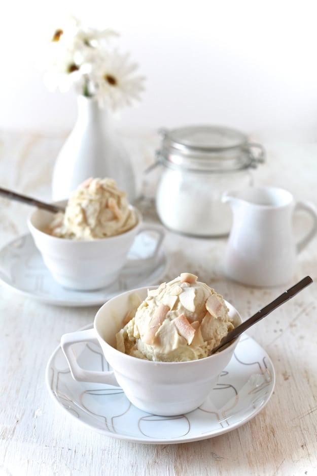 Coconut & Green Tea Ice Cream
