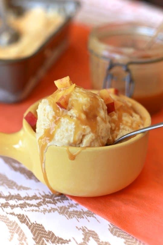 peach ginger ice cream