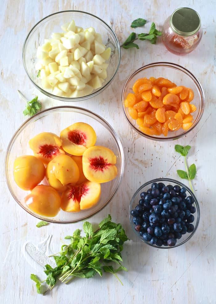 Back to School Fruit Cocktail - TheNoshery.com