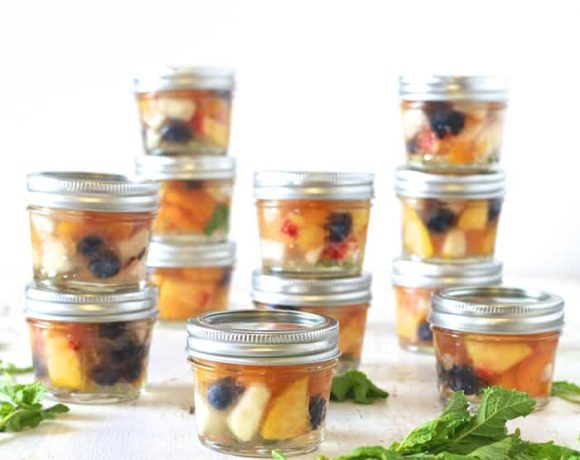 Back To School: Homemade Fruit Cups