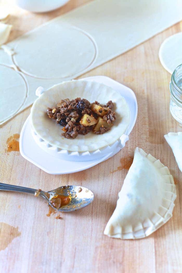 Pastelillos de Carne (Puerto Rican Meat Pie) | TheNoshery.com