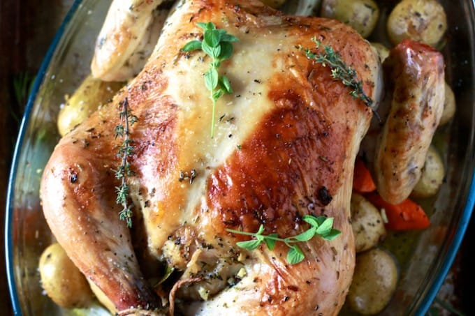 Roast Chicken - TheNoshery.com