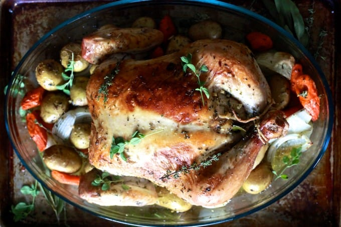 Roast Chicken - TheNoshery.com