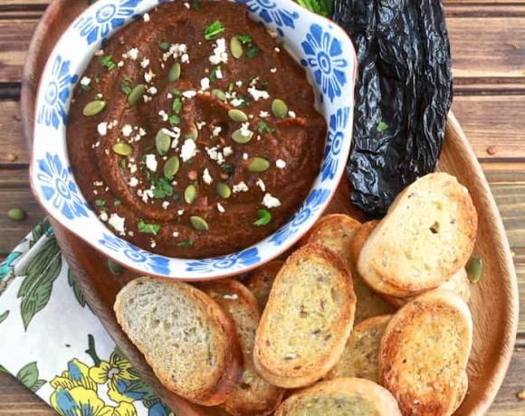 Roasted Pumpkin Mole Spread