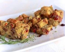 Savory Bread Pudding | TheNoshery.com | #thanksgiving #side