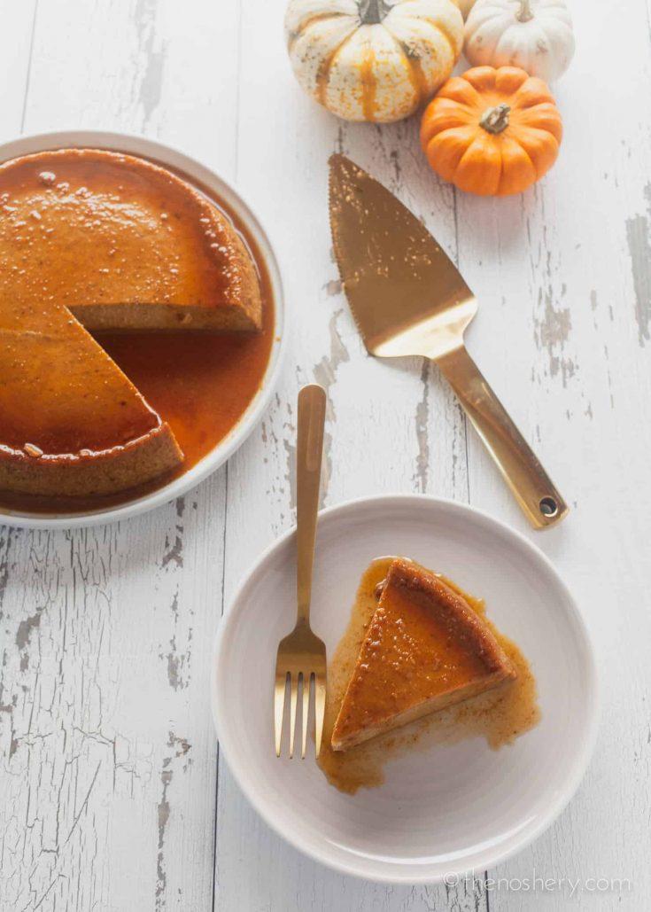 Flan de Calabaza (Pumpkin Flan)
