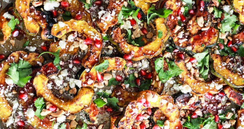 Roasted Hot Madras Acorn Squash