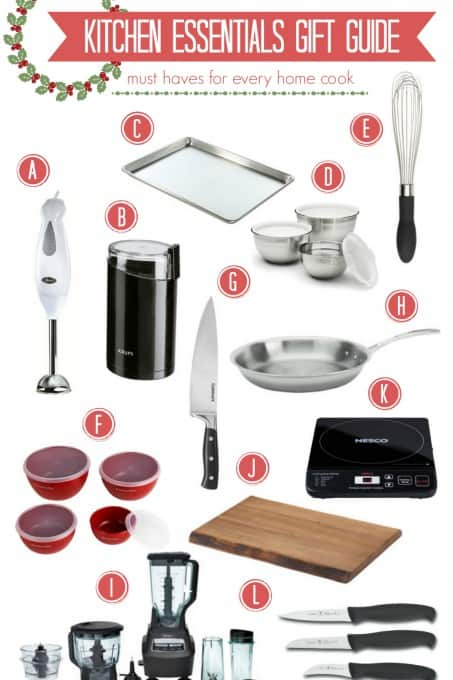 Kitchen Essentials Gift Guide - Must Haves for Every Home Cook | TheNoshery.com - @thenoshery | @JCPenney #jcpambassador #bh #ad #giftguide