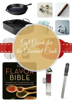 Gift Guide for the Gourmet Cook | TheNoshery.com - @TheNoshery