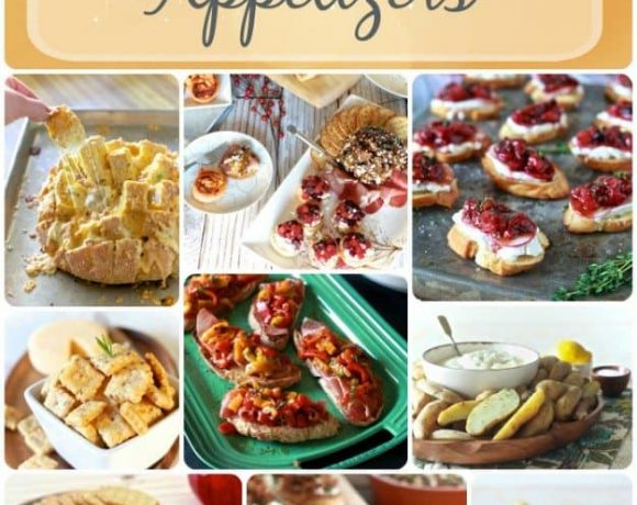 Get the Party Started Appetizers