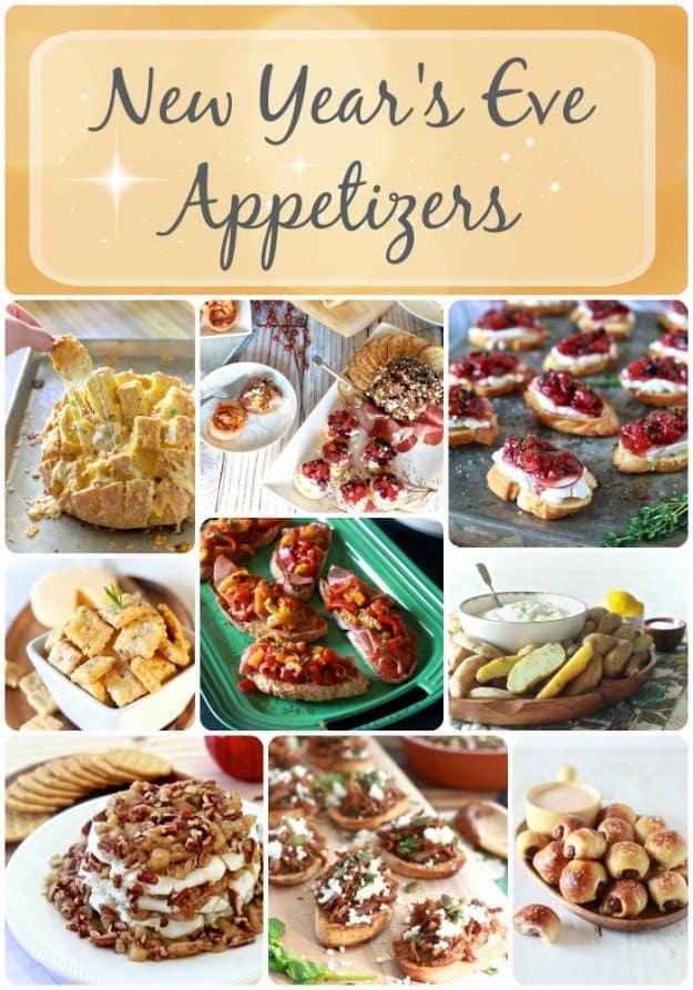 New Year's Eve Appetizers | TheNoshery.com - @TheNoshery