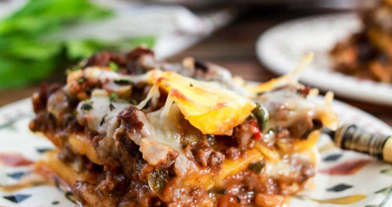 Pastelon (Puerto Rican Sweet Plantain Lasagna)