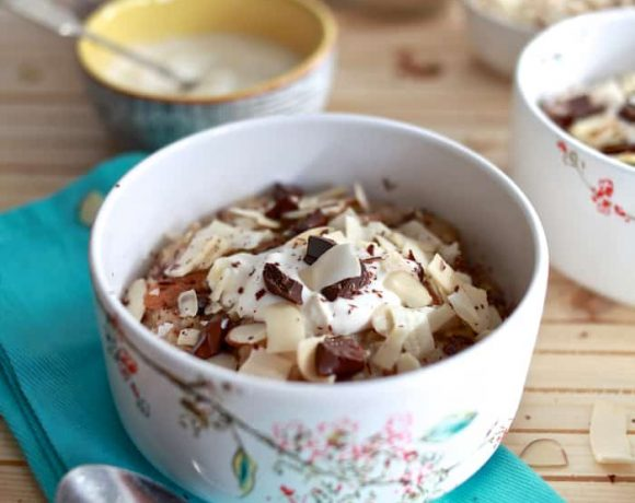Spiced Ancient Grain Hot Cereal