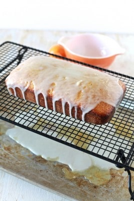 Meyer Lemon Olive Oil Pound Cake
