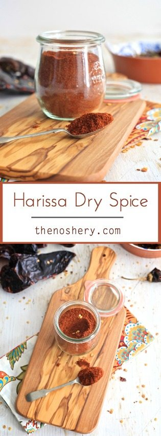 Harissa Dry Spice | All the spice and depth of harissa paste in sprinkle form. | TheNoshery.com - @TheNoshery