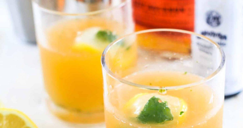 Whiskey Smash | Citrus + Mint Whiskey Cocktail