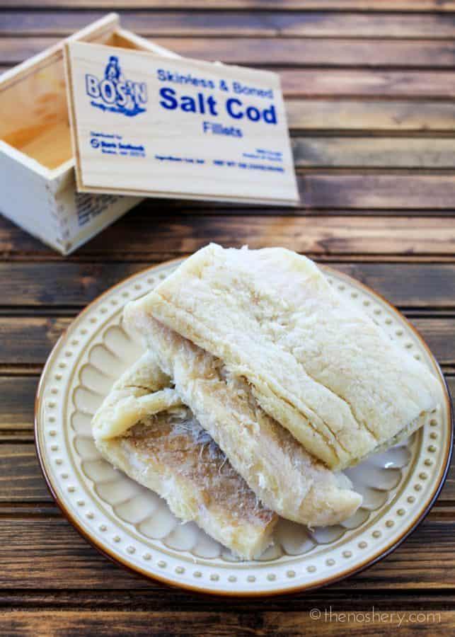 Ensalada de Bacalao (Salted Cod Salad) | The Noshery
