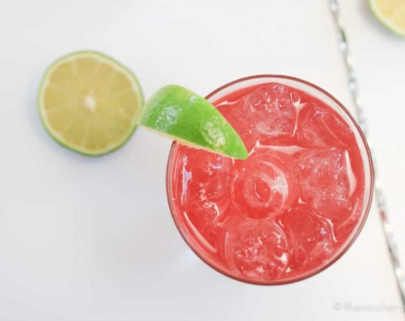 Pink & Stormy Cocktail + GIVEAWAY!