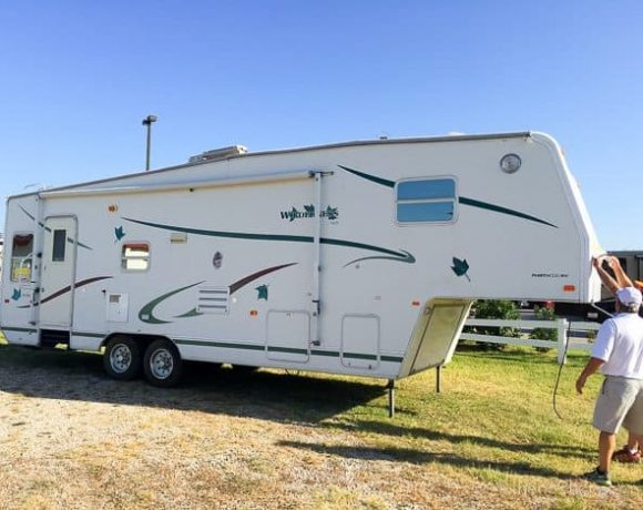 Moving On Up: New Camper Home