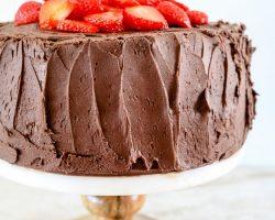 Joan's Deviled Food Cake |TheNoshery.com #chocolateforjoan
