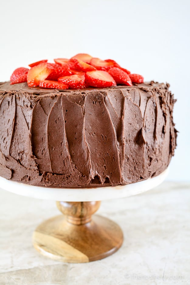 Joan's Deviled Food Cake |TheNoshery.com #chocolateforjoan
