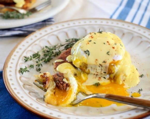 Potato Cake Benedict