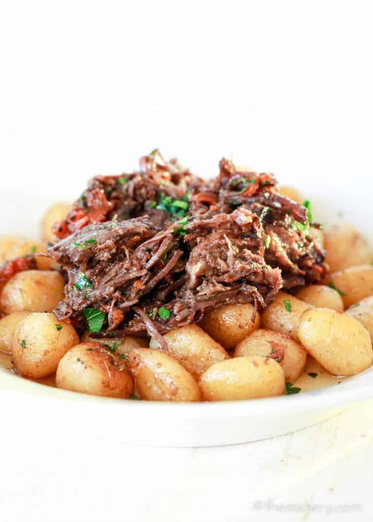 Red Wine Braised Beef