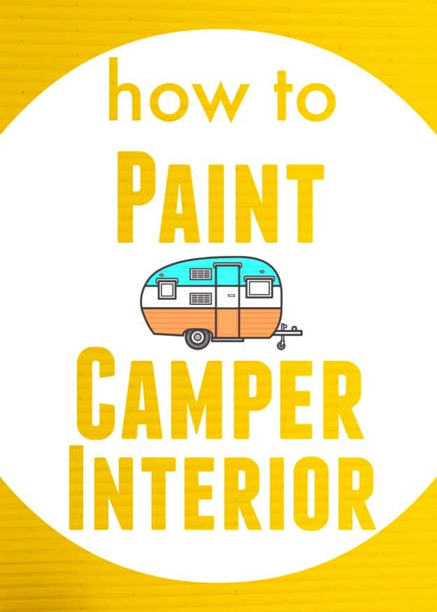 How to Paint Camper Interior - The Noshery