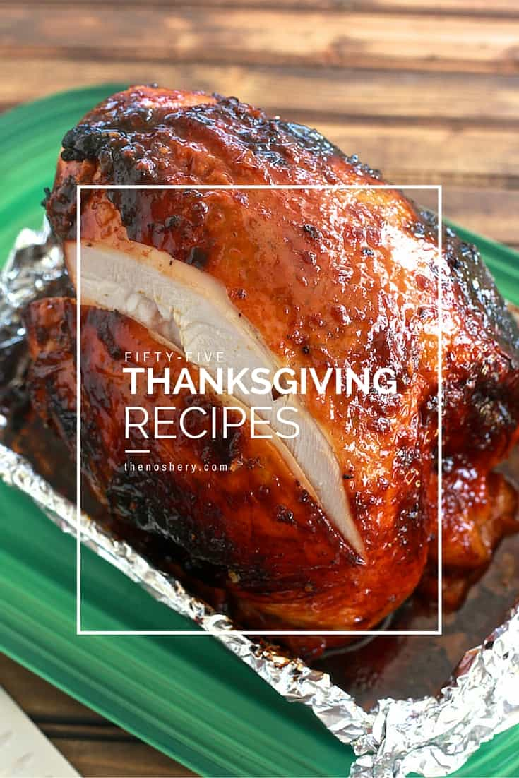 55 Thanksgiving Recipes | TheNoshery.com