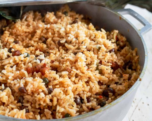 Arroz con Gandules | How to Make Puerto Rican Rice and Pigeon Peas