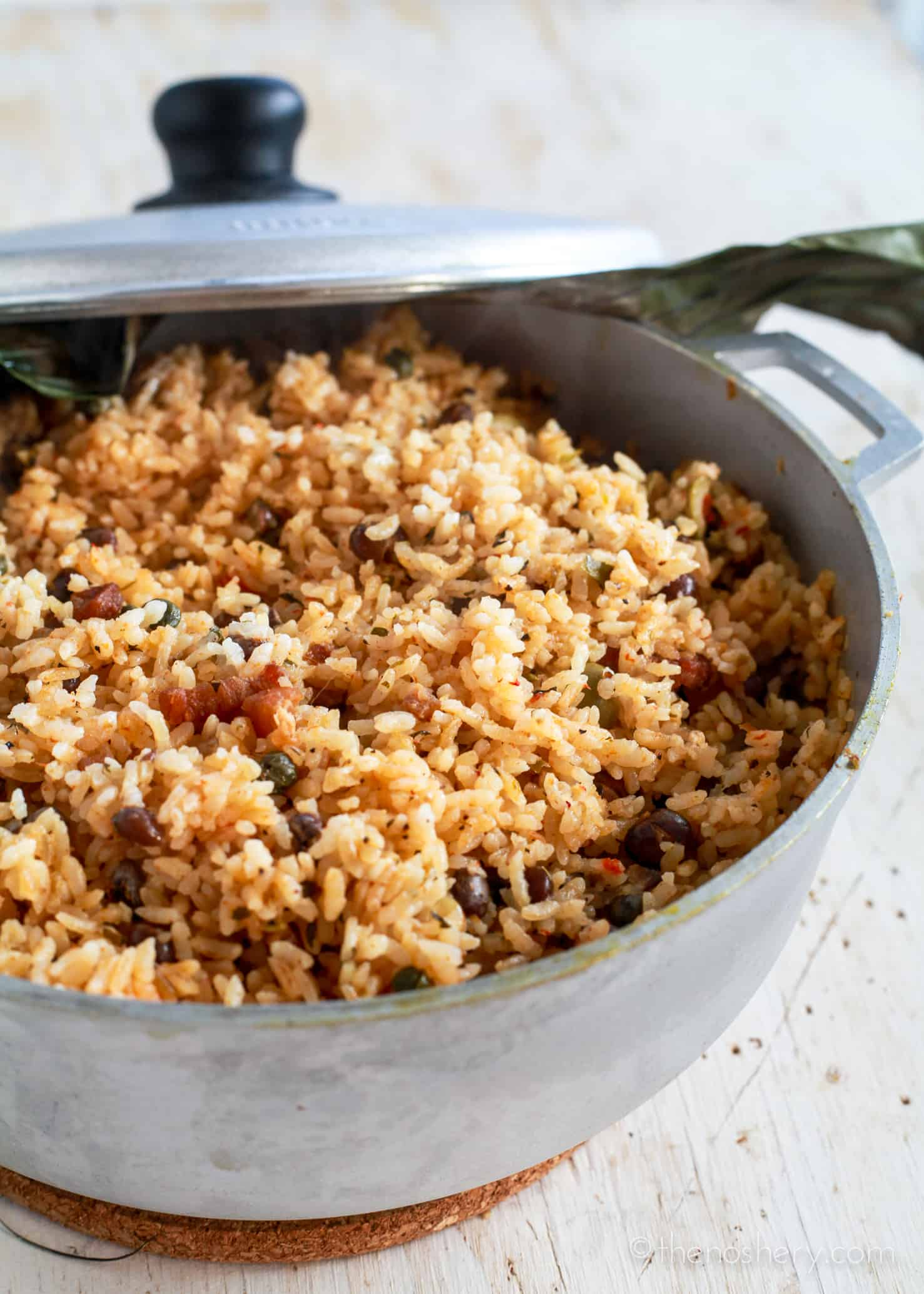 Arroz con Gandules | How to Make Puerto Rican Rice and ...