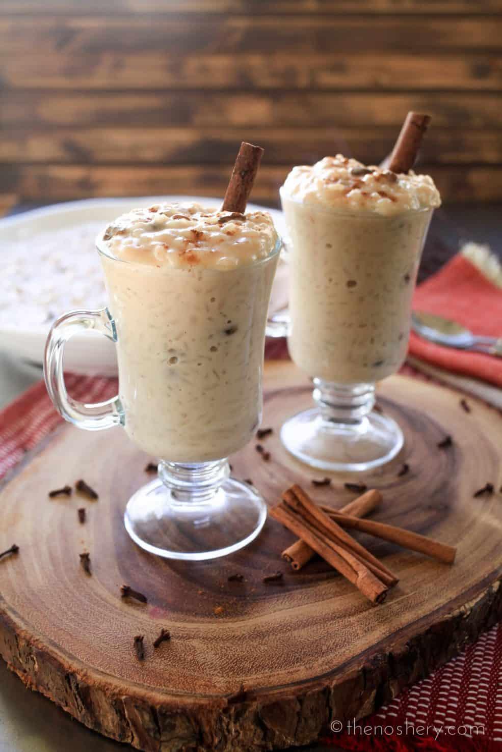Arroz Con Dulce (Coconut Rice Pudding) | TheNoshery.com