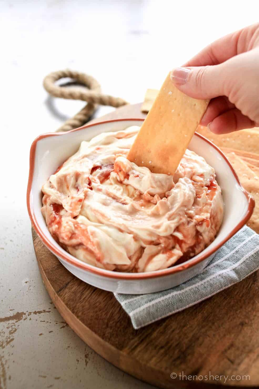 Guava and Cream Cheese Dip | TheNoshery.com