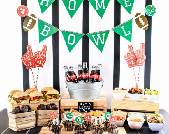 Ultimate Home Bowl Spread with Free Printables