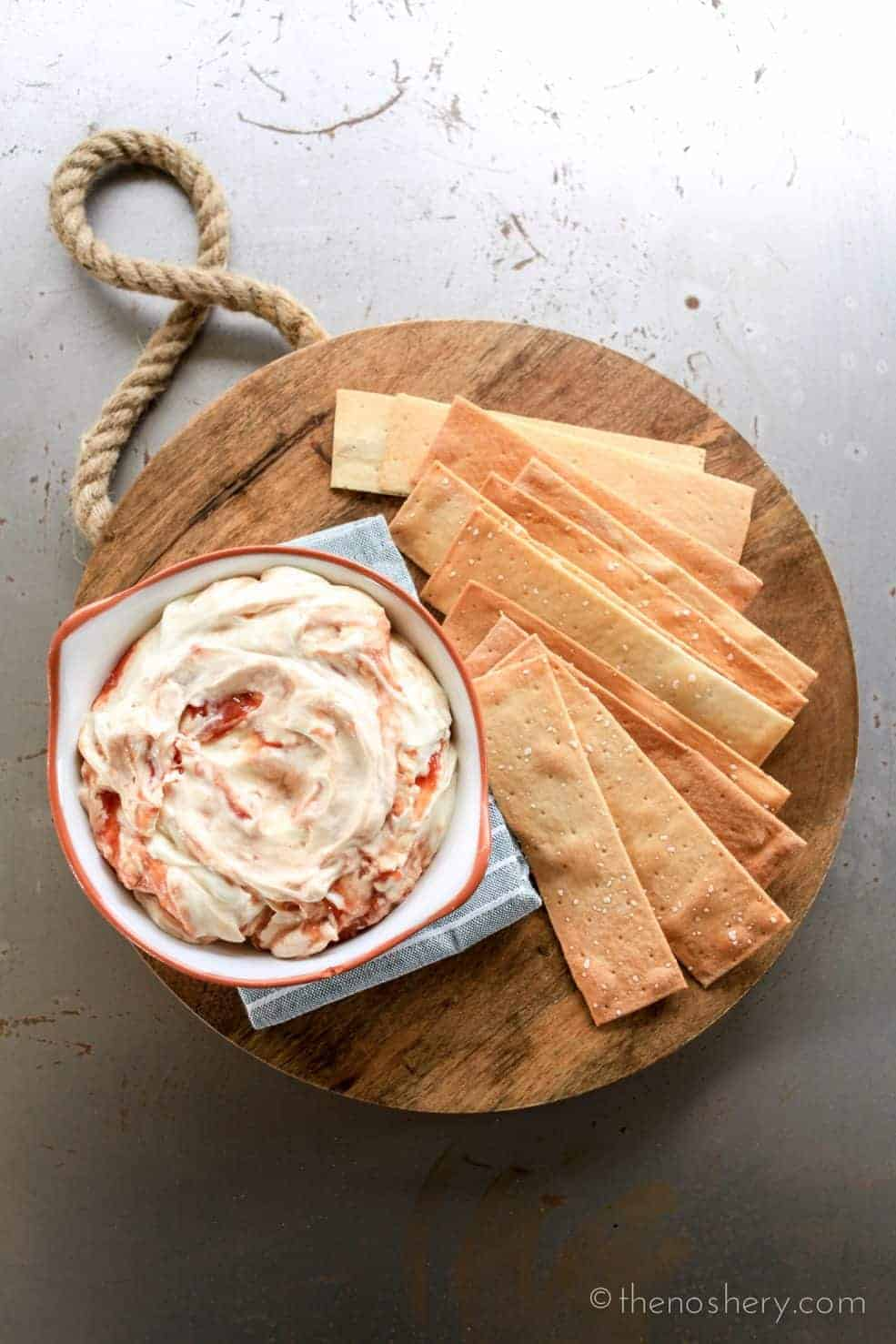 Puerto Rican Guava and Cream Cheese Dip | TheNoshery.com