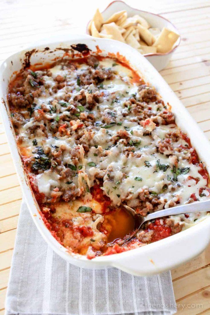 Baked Lasagna Dip