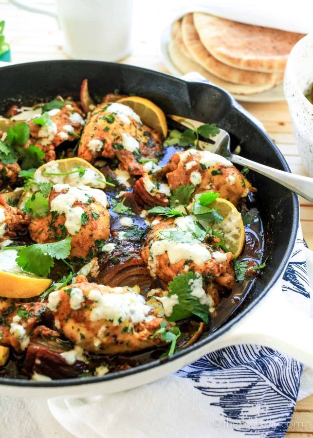 Chicken Shawarma Skillet | The Noshery