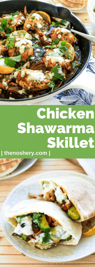 Chicken Shawarma Skillet | The Noshery