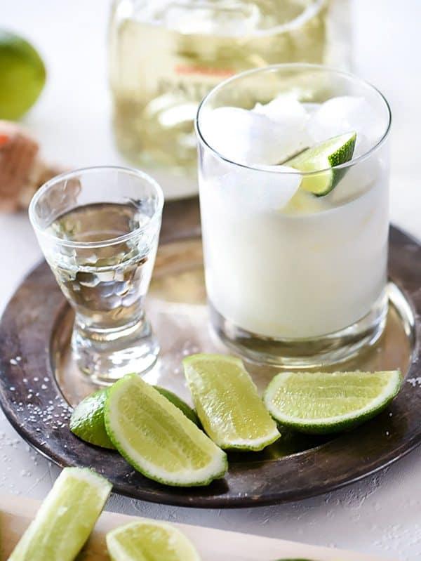 A Round of Margaritas! | Best Coconut Margarita - FoodieCrush