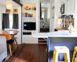 Tiny House Living: Camper Remodel |TheNoshery.com #dreamsmallproject