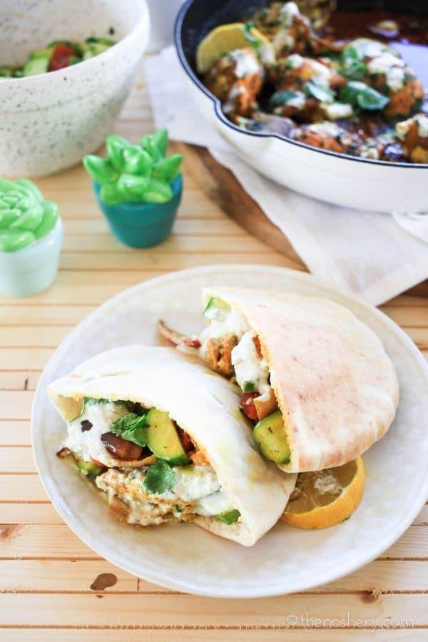 Baked Chicken Shawarma | TheNoshery.com
