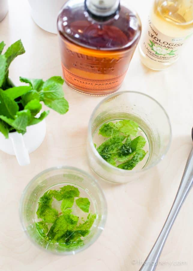 Elderflower Mint Julep | TheNoshery.com