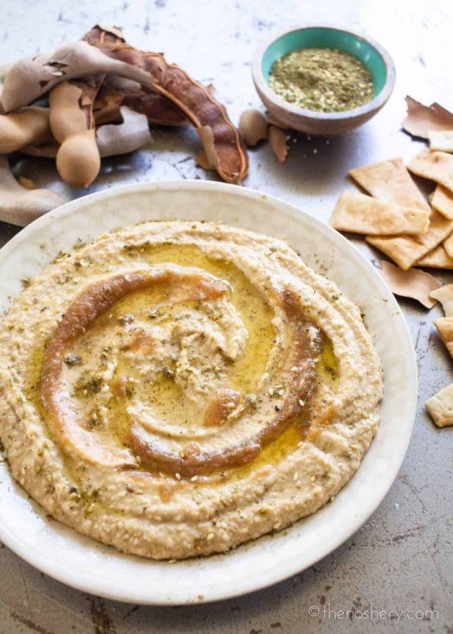 Tamarind & Za'taar Hummus | TheNoshery.com