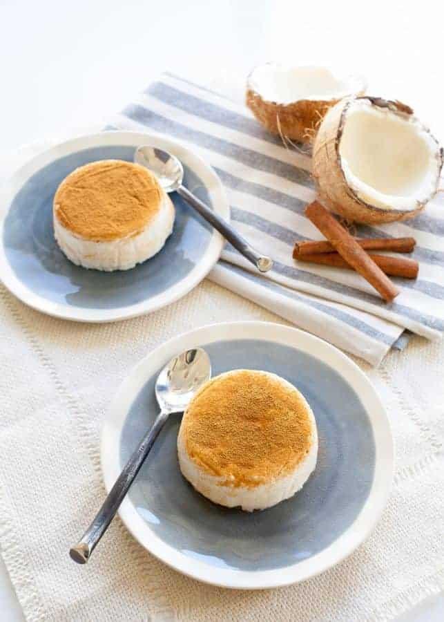 Tembleque (Coconut Pudding) | TheNoshery.com