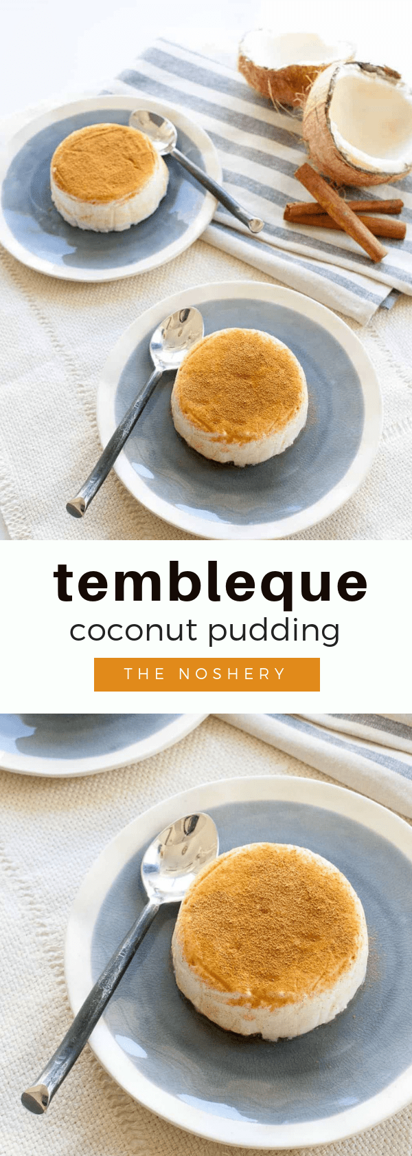 Tembleque (Coconut Pudding)