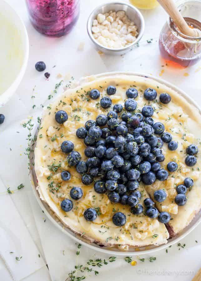 Lemon and Blueberry Crepe Cake | TheNoshery.com